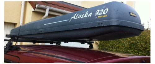 coffre de toit norauto alaska 320 litres